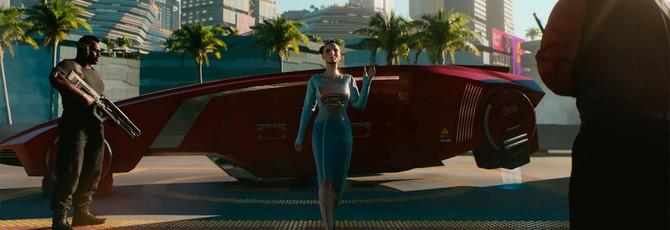В Cyberpunk 2077 нельзя свободно летать, но можно плавать