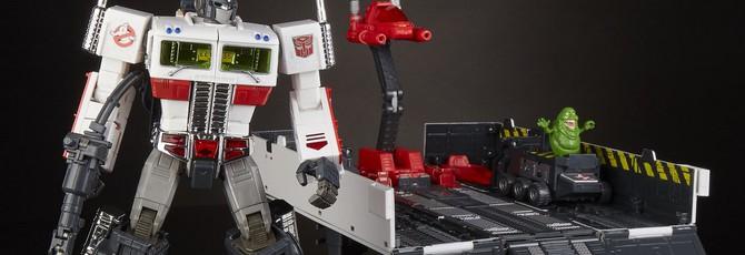 Hasbro представила новую фигурку из серии Transformers x Ghostbusters