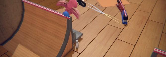 Птичка на скейте и кикфлипы в первом трейлере Skatebird