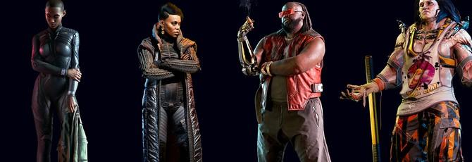 Профили персонажей Cyberpunk 2077