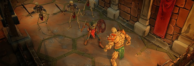 Скелеты и сражения в подземельях в новом трейлере RPG Gloomhaven