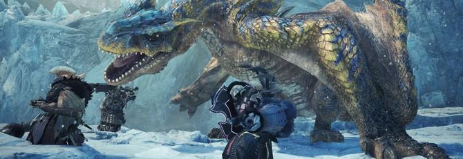 Стартовала вторая волна ОБТ Monster Hunter: World — Iceborne