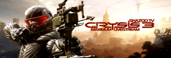 Maximum Shazoo TV - Анонс прохождения Crysis 3