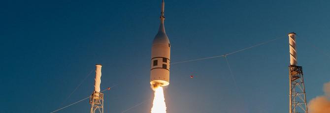 NASA успешно испытала систему экстренной эвакуации аппарата Orion