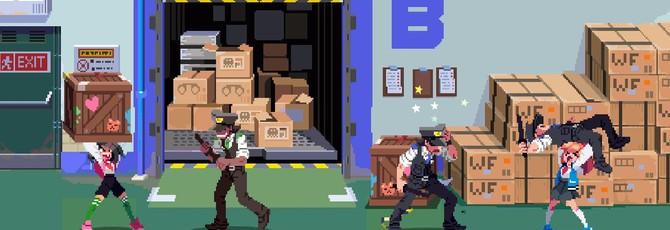 Две школьницы избивают врагов в трейлере битемапа River City Girls