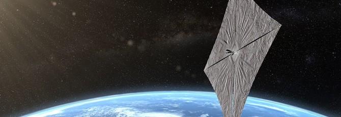 Космический аппарат LightSail 2 с солнечным парусом отправил первые сигналы на Землю