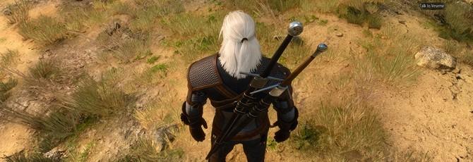 Мод для The Witcher 3 улучшает волосы и бороду Геральта