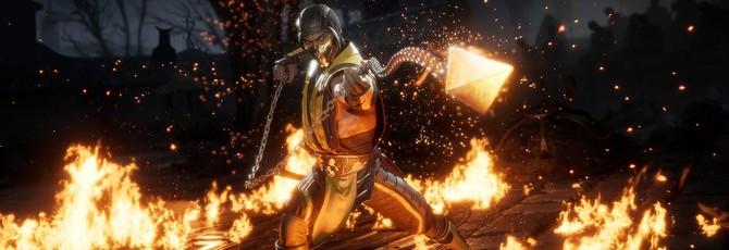 Фанаты делают скриншоты с глитчем Mortal Kombat 11