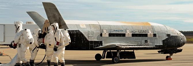Астроном-любитель засёк космический самолёт ВВС США, снующий на орбите Земли