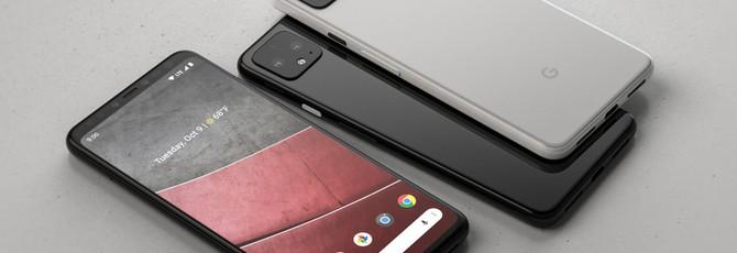 """На рендерах Google Pixel 4 XL отсутствует """"чёлка"""""""