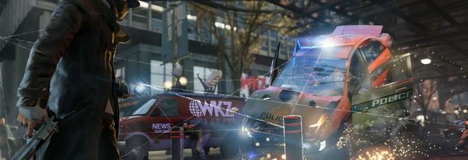 Демо-версия Watch Dogs была запущена на PC, а не на PS4