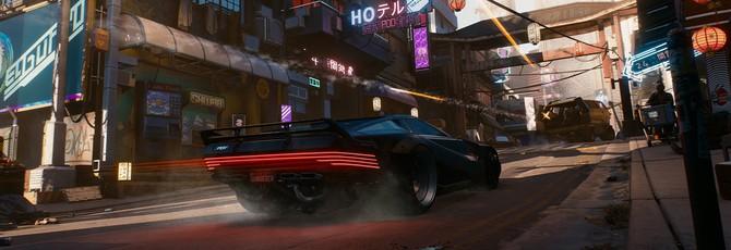 В Cyberpunk 2077 будет автомобильное радио и личный гараж у игрока