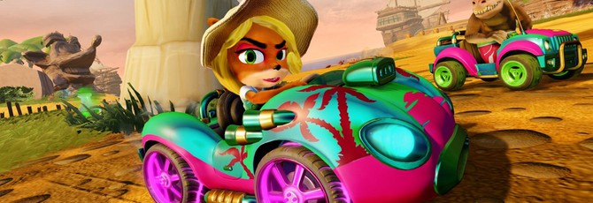 Разработчики переименовали расово-оскорбительные скины в Crash Team Racing Nitro-Fueled