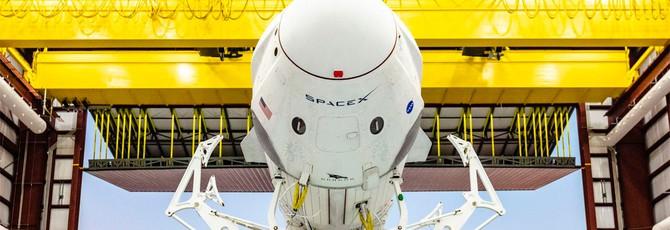 SpaceX назвала причину взрыва капсулы Crew Dragon