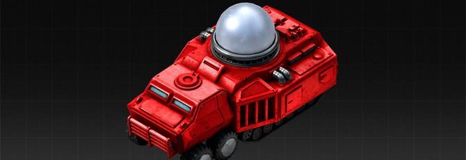 Первый взгляд на новый танк Тесла в Red Alert Remastered