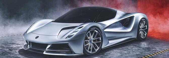 Lotus представил электрический гиперкар Evija, самый мощный автомобиль в мире