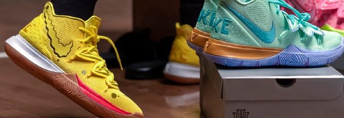 """Nike выпустит кроссовки в расцветке мультфильма """"Губка Боб Квадратные Штаны"""""""