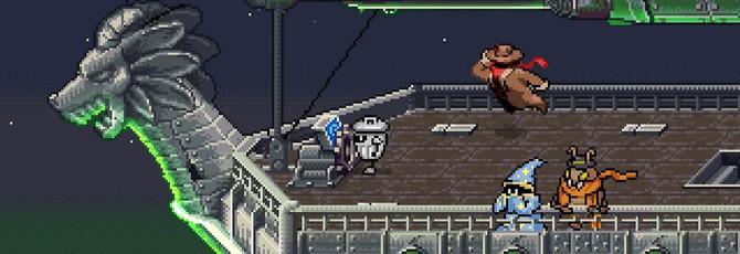 Приключения в королевстве мусора в трейлере ретро-RPG Kingdoms of the Dump