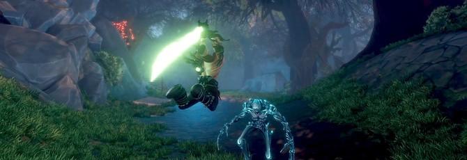 Расчленение врагов в геймплее Warlander