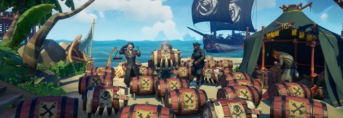 Вышло крупное обновление для Sea of Thieves