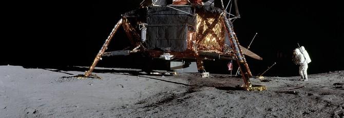 """NASA опубликовало серию лунных панорам в честь 50-летия миссии """"Аполлон-11"""""""