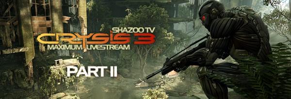 Maximum Shazoo TV: Crysis 3 - Геймплей с комментариями. День второй