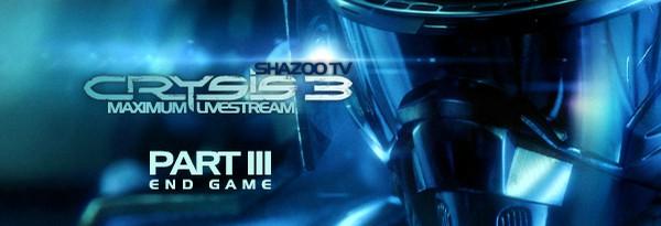 Maximum Shazoo TV: Crysis 3 - Геймплей с комментариями. Конец игры