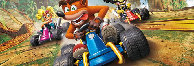 UK-чарт: Ремейк Crash Team Racing снова на первом месте