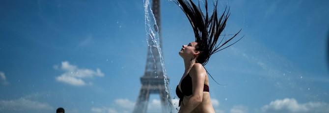 Европа снова бьет температурные рекорды