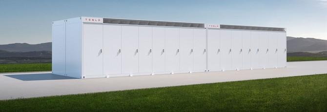 Tesla выпустила одну из самых больших систем для хранения энергии