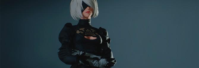 Теперь в Resident Evil 2 можно играть за 2B из Nier: Automata