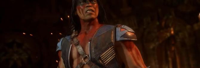 Персональный трейлер Ночного Волка из Mortal Kombat 11