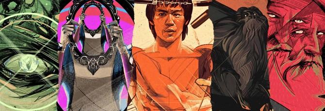 Анонсирована настольная игра Unmatched, в которой Брюс Ли может драться с Йети