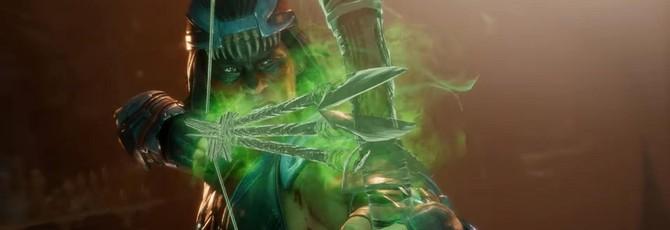 Геймплей Mortal Kombat 11 за Ночного Волка
