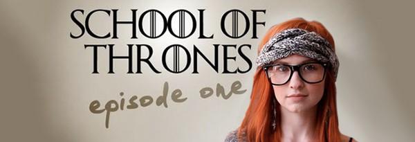 School of Thrones - Game of Thrones в стиле школьной комедии 90-х