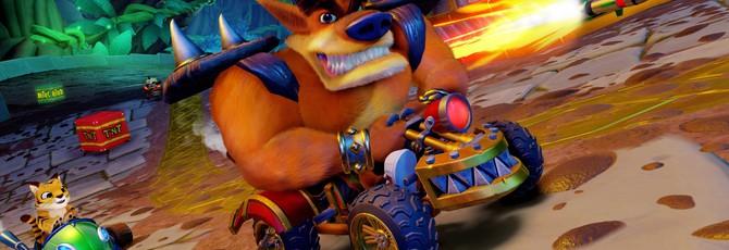 UK-Чарт: Crash Team Racing Nitro-Fueled вновь лидирует