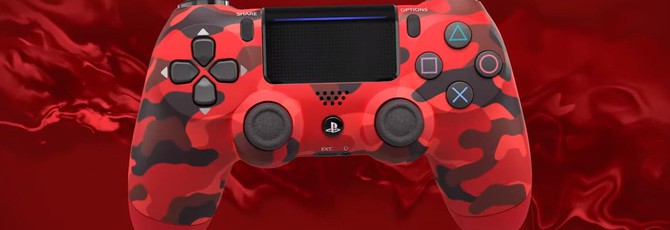 Sony анонсировала новые цвета Dualshock 4