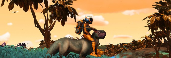 Залезай на Крокозябру, прокачу! Как кататься верхом на существах в No Man's Sky Beyond