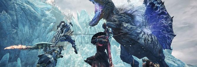 Gamescom 2019: борьба с ледяным драконом в новом трейлере Monster Hunter World: Iceborne