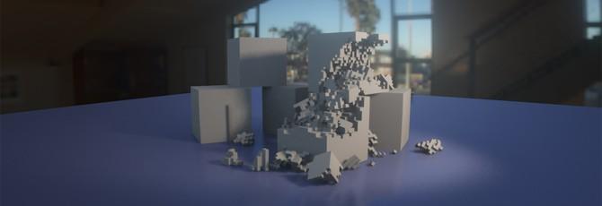 Этот воксельный проект представляет один из лучших физических движков в играх
