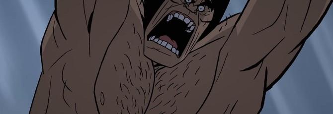 """Пещерный человек на тираннозавре в трейлере мульфильма Primal от создателя """"Самурая Джека"""""""