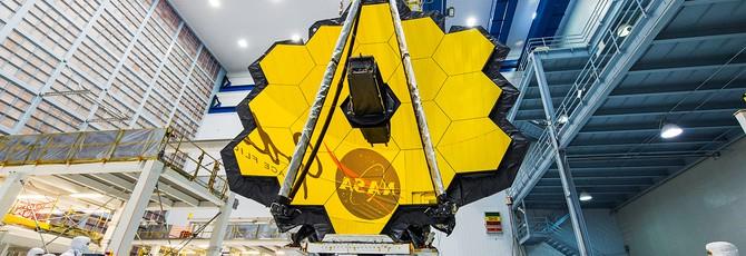 Телескоп имени Джеймса Уэбба окончательно собран и готов к запуску в 2021 году