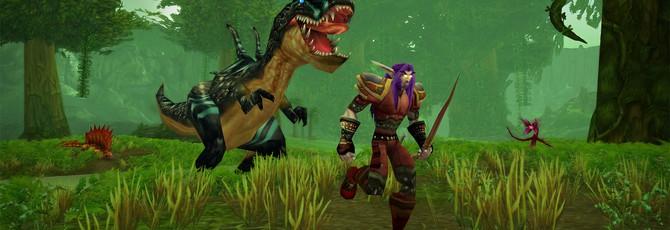 Один из геймеров WoW Classic прокачивает своего персонажа со смартфона