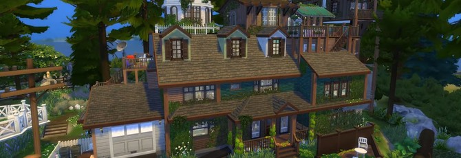 В The Sims 4 воссоздали дом из What Remains of Edith Finch
