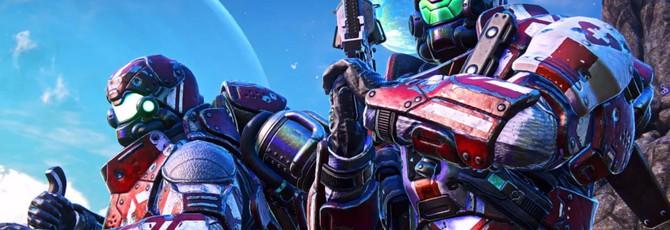 Первый геймплей массивной королевской битвы PlanetSide Arena