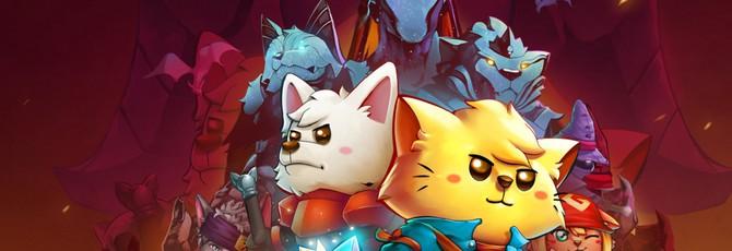 Коты-герои сказочного мира в геймплее Cat Quest 2