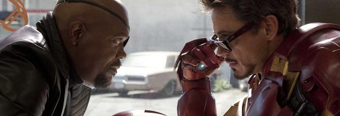 """В альтернативной версии сцены после титров """"Железного человека"""" Ник Фьюри упоминает мутантов и радиоактивных насекомых"""