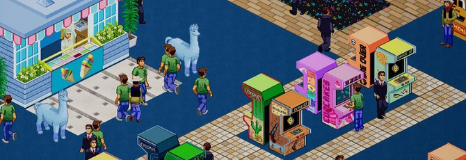 Управление центром развлечений в трейлере Arcade Tycoon
