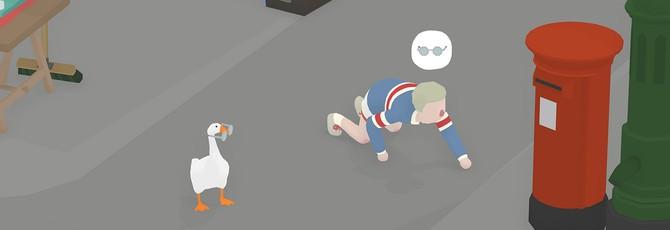 Отвратительный гусь издевается над людьми в релизном трейлере Untitled Goose Game