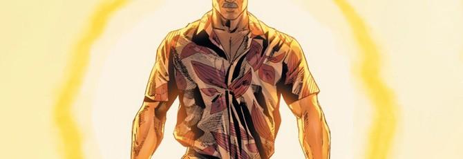 В комиксе про Бэтмена показали усатого и сексуального Брюса Уэйна